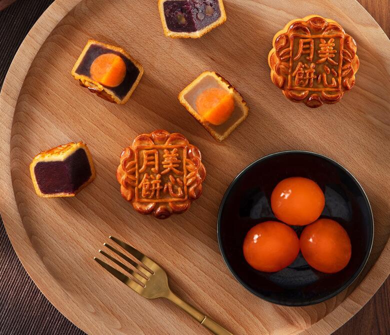 中国香港美心金装彩月月饼礼盒蛋黄豆沙白莲蓉栗子广港式